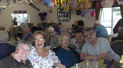 Highfield Court celebrate Anchor's 50th Anniversary