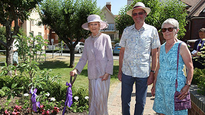 HRH Princess Alexandra visits Bishopstoke Park marking Anchor's 50th anniversary