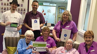 Primrose Court care home praised by care regulator