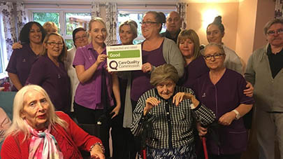 Wellington Lodge care home praised by care regulator