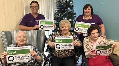 Millbeck care home praised by care regulator