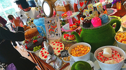 Mill View holds its own Mad Hatter's Tea Party